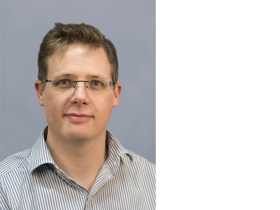 Application Specialist James Silvester