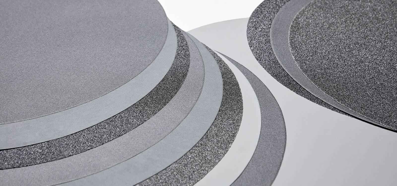 SIC Papier abrasif 300 mm//p800 auto-adhésif 100 pcs//ATM struers
