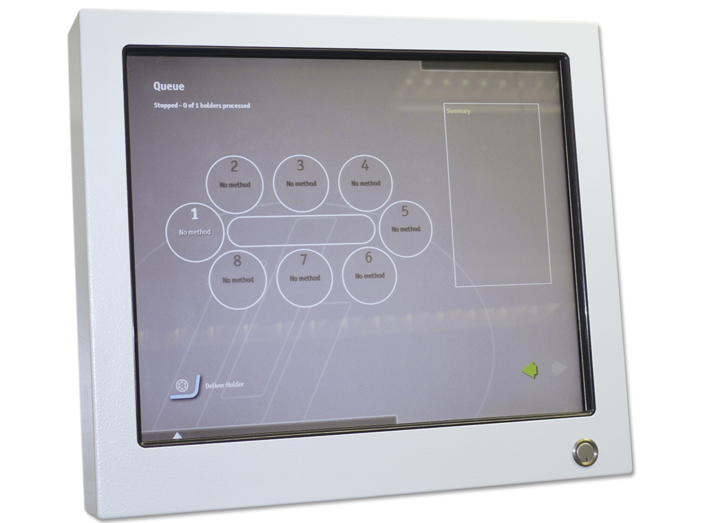 Hexamatic touch screen