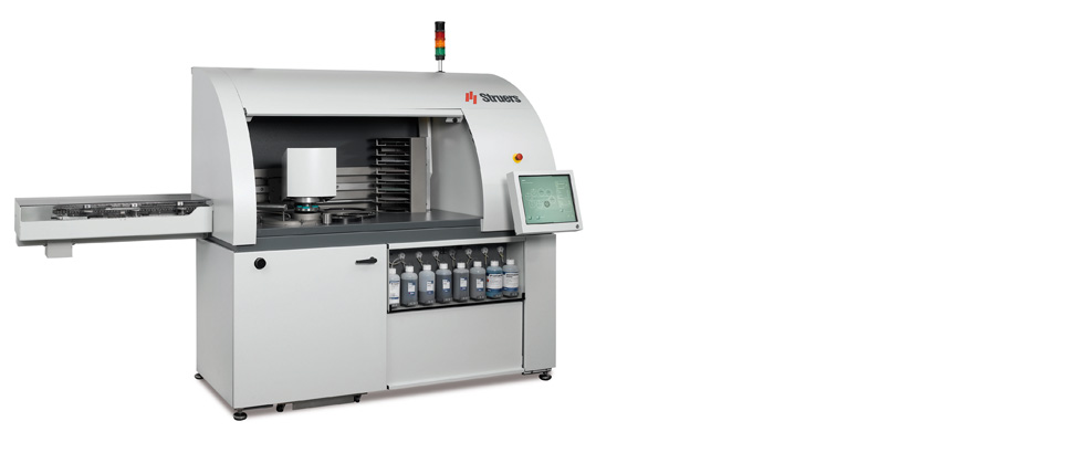 Hexamatic fully automatic, compact preparation system