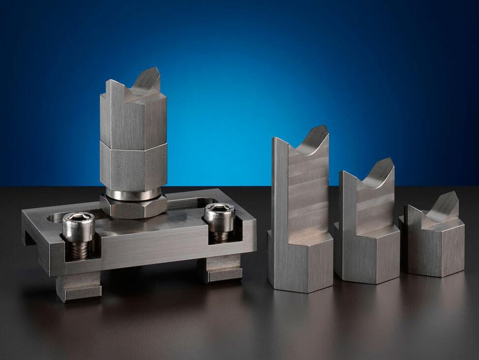 Accessoires de coupe - blocs de support réglables