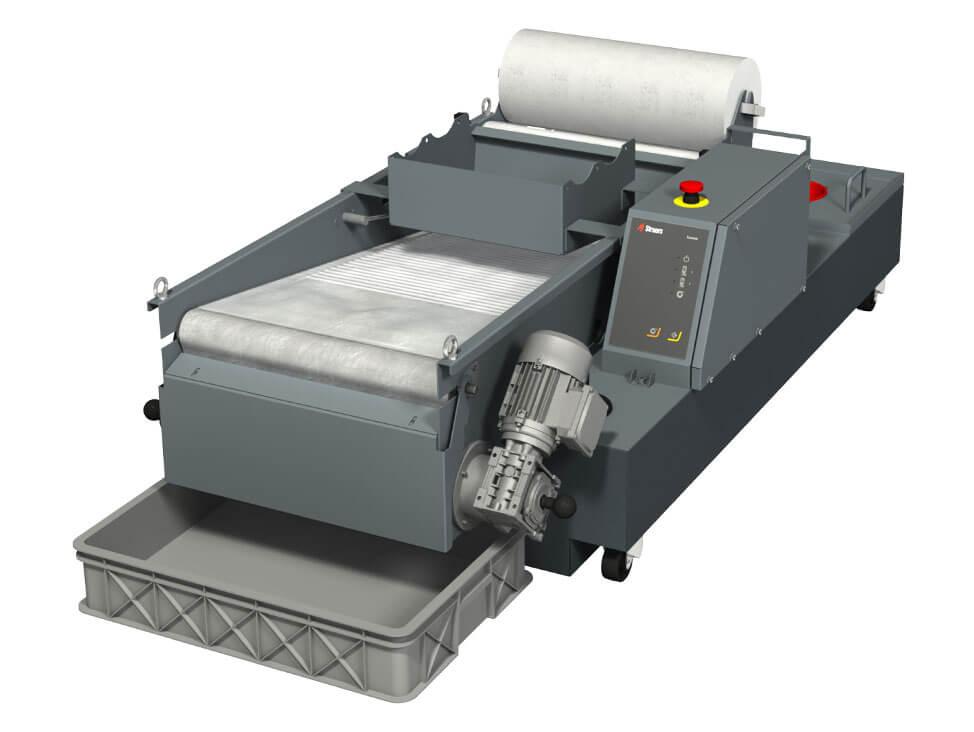 Unité automatique de filtre magnétique pour l'unité de refroidissement