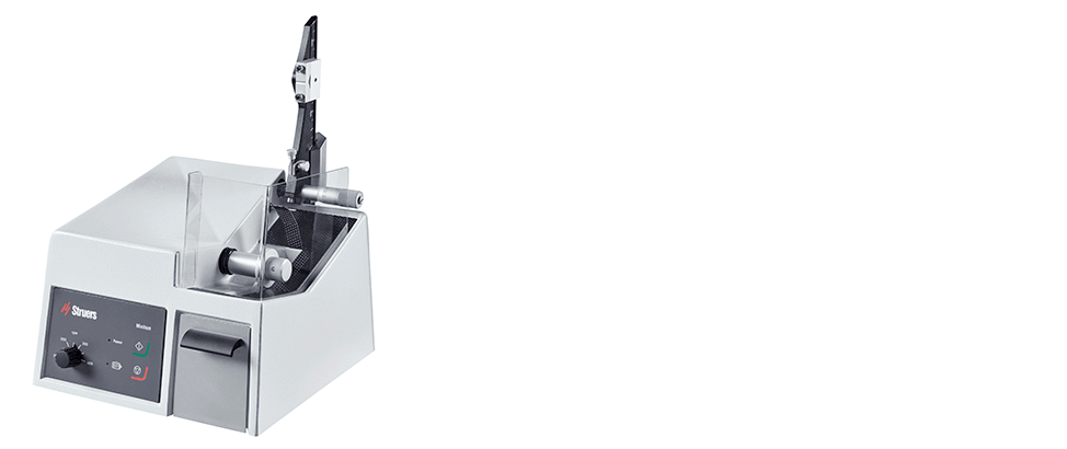 Minitom low-speed precision cutoff machine