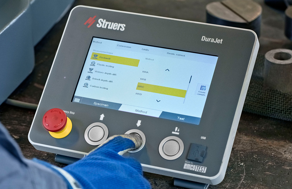 DuraJet G5 display