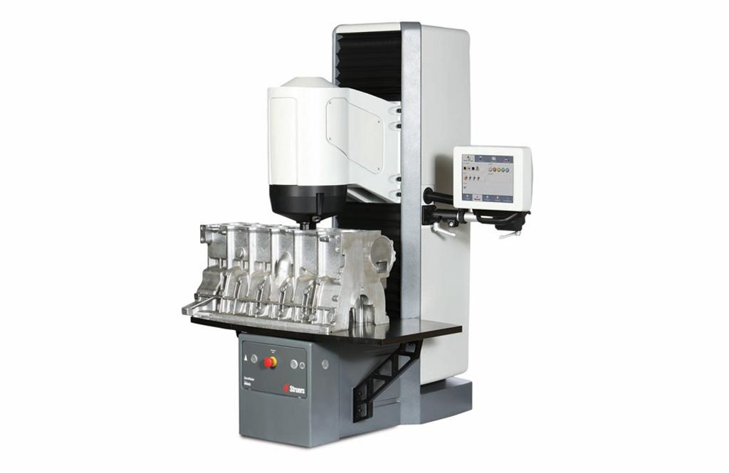 DuraVision 200 300 with workpiece