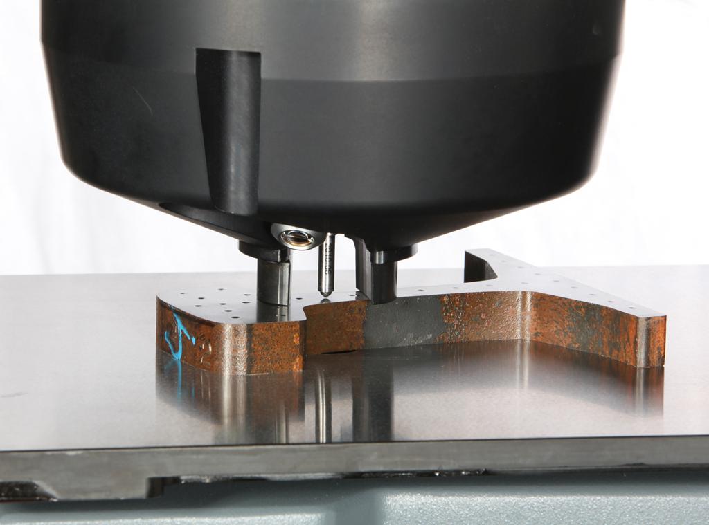 クランピングを容易にする柔軟性の高いデュラビジョンノーズコーン