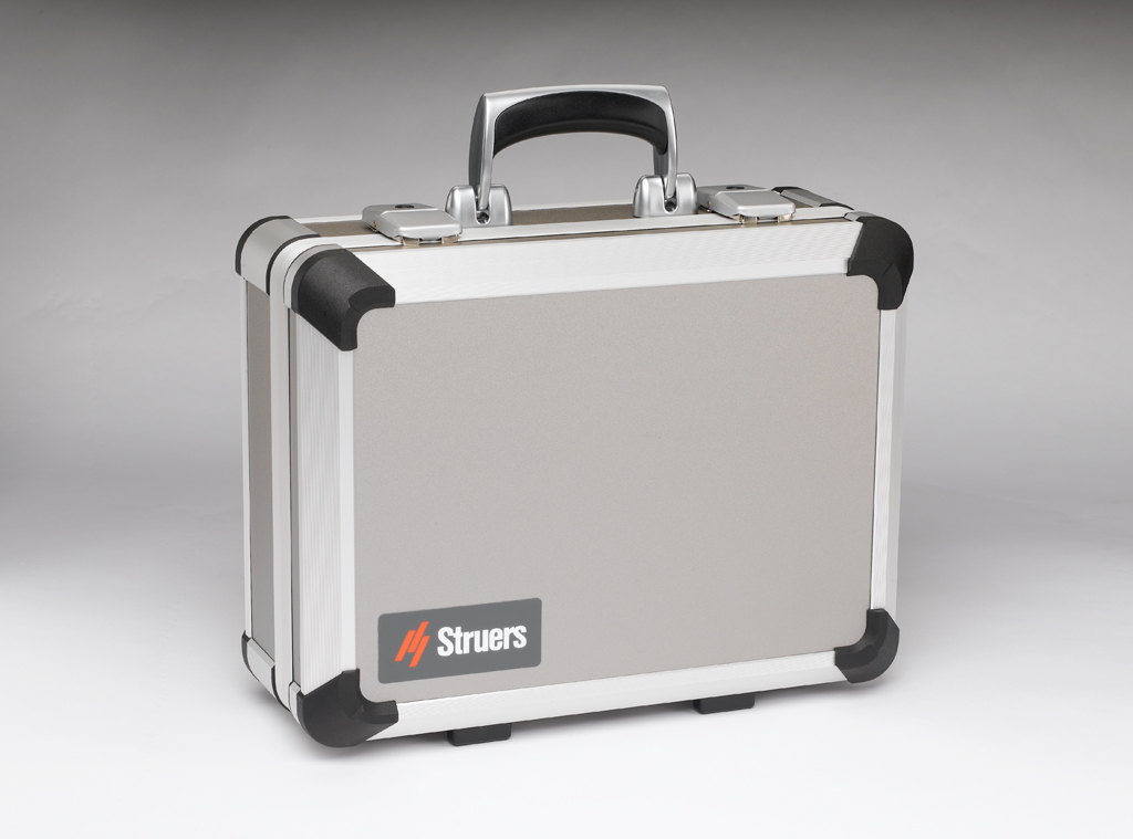 Estuche de transporte de aluminio de PSM