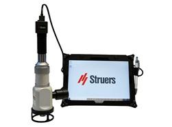 PSM – Teil der Serie tragbarer Geräte für die zerstörungsfreie Prüfung von Struers