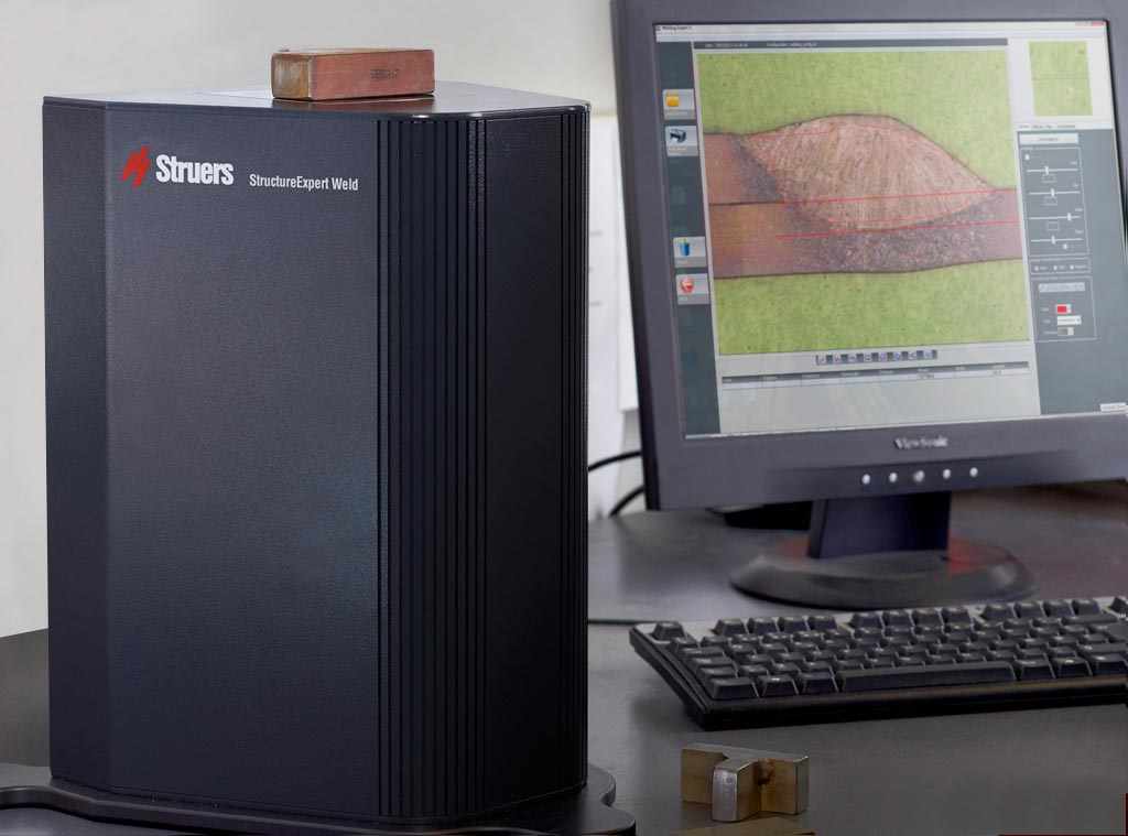 StructureExpert Weld Inverted Optical System