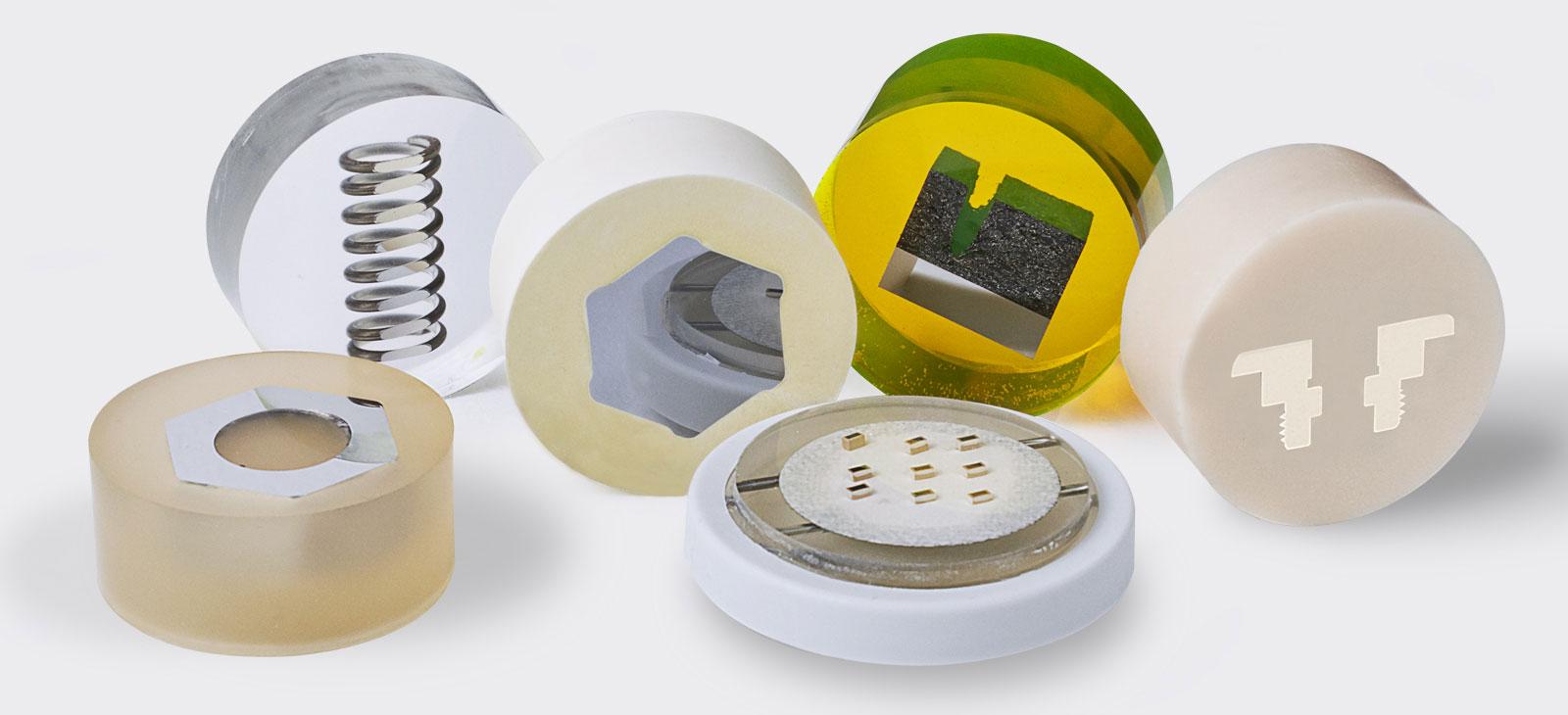 Verbrauchsmaterialien für Einbettgeräte