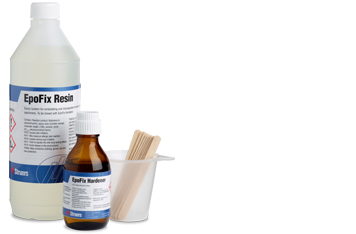 Struers cold-mounting consumables epoxy