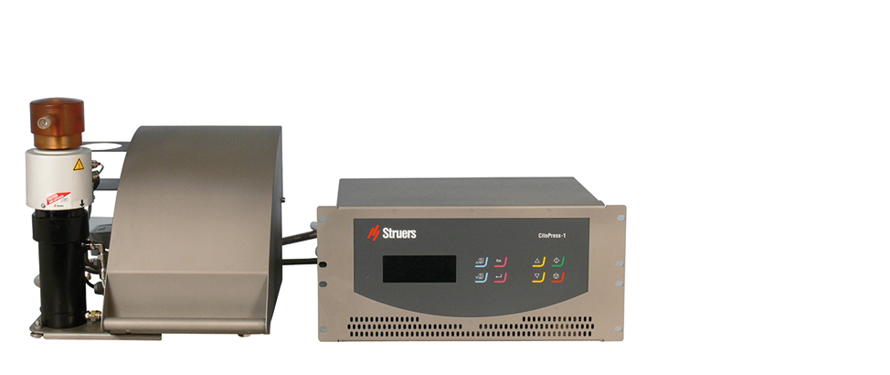 Prensa de embutición CitoPress-1 para célula caliente
