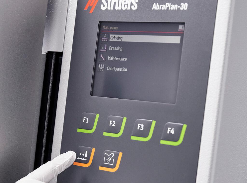 AbraPlan-30: Benutzerfreundliche Bedieneinheit