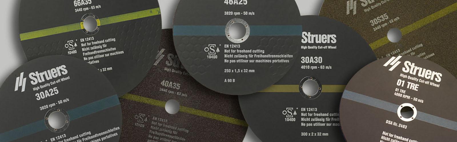 Verbrauchsmaterialien für Discotom Labotom