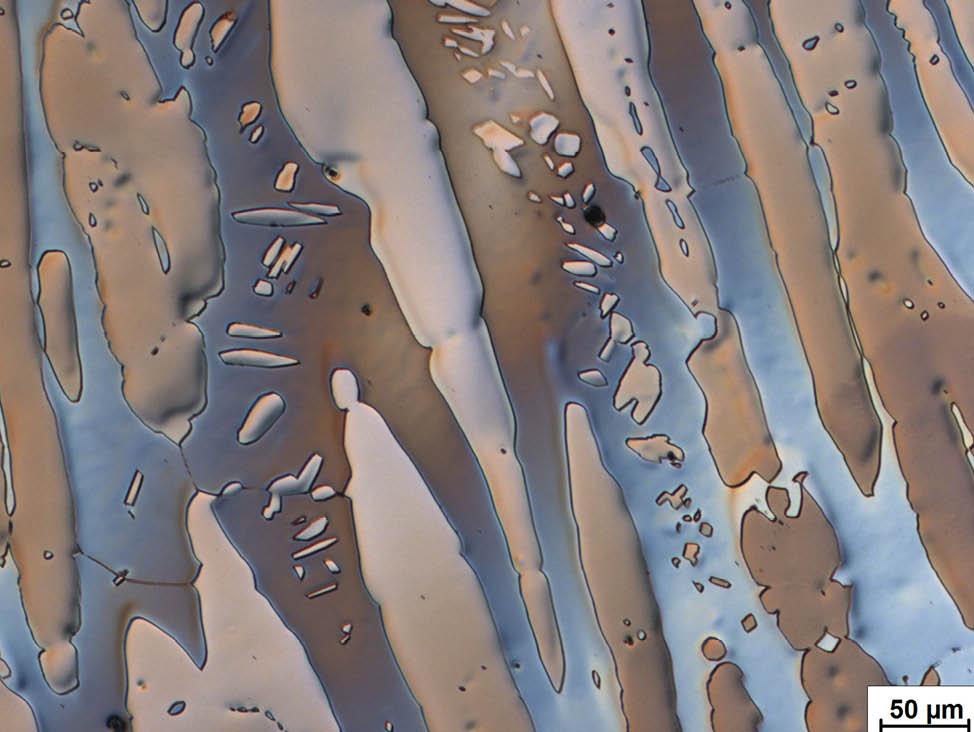 金属晶粒结构