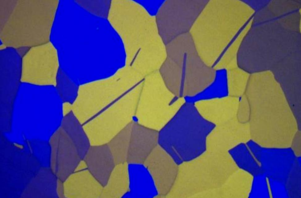 Microscopie en lumière polarisée