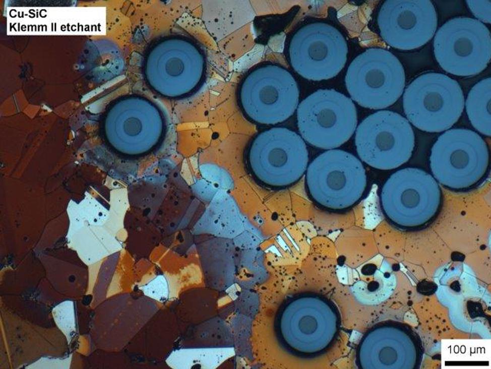 Preparación de muestra en microscopio óptico de luz