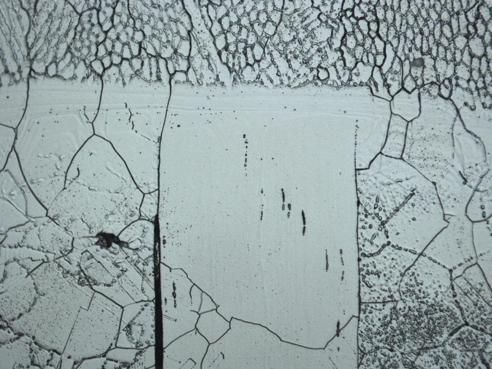 Micro inspección de soldadura: