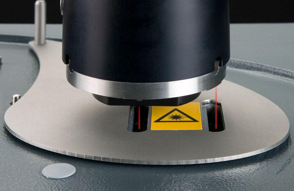 Tapa para medición de láser