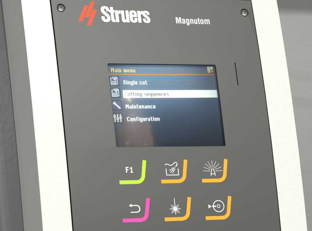 Magnutom Four cutting modes
