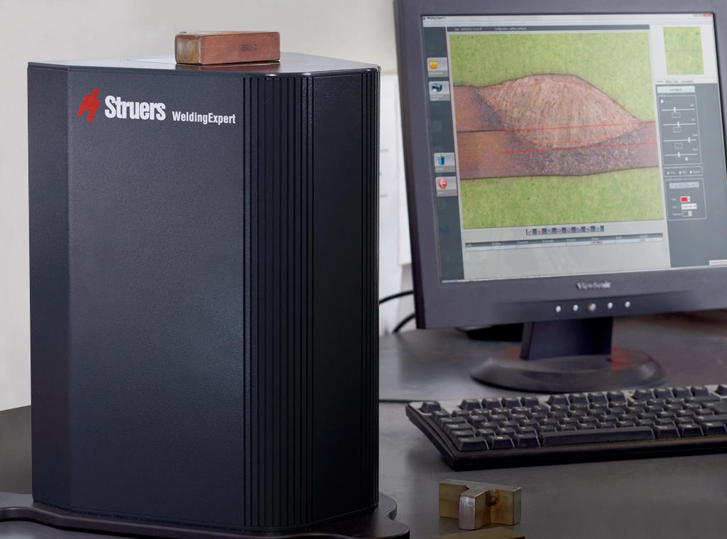 Sistema óptico invertido de WeldingExpert