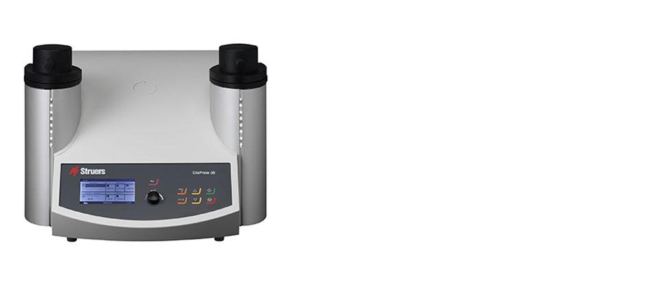 CitoPress-30 是一款电液可编程双筒镶样机。