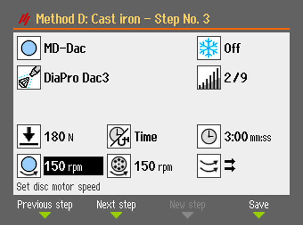 AbraPol 30 可变速研磨盘和试样夹具座旋转