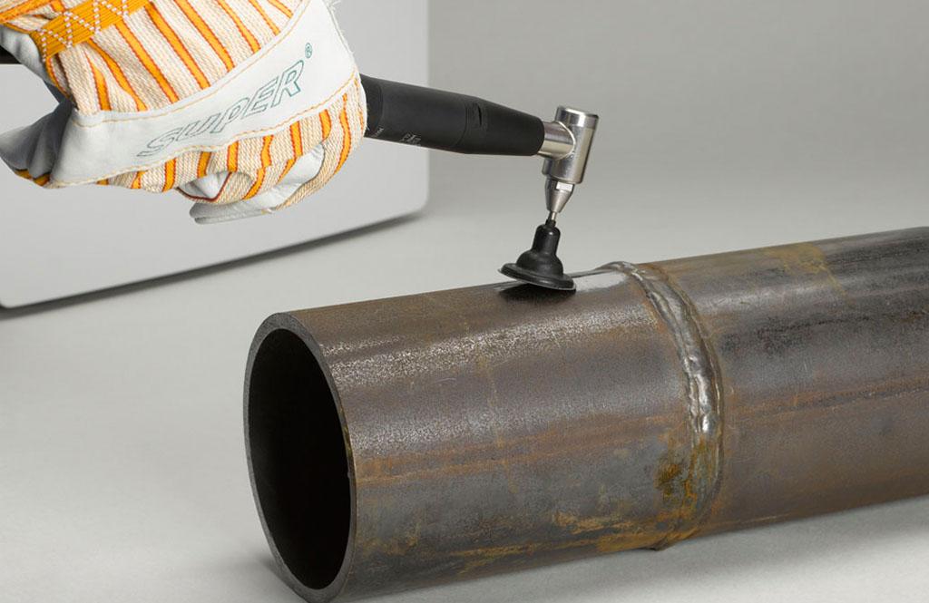Transpol-5 portable, non-destructive metallographic grinding/polishing machine