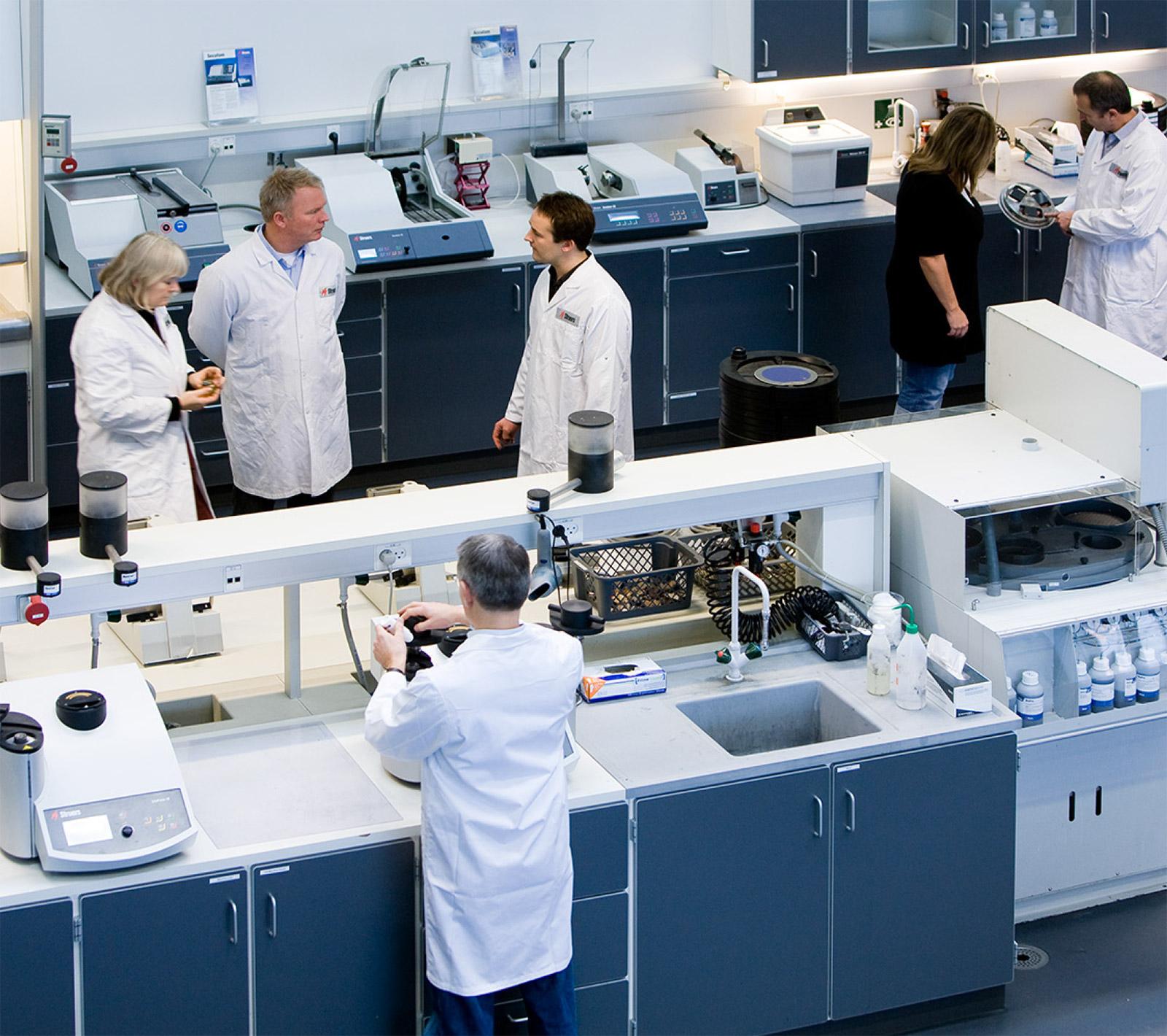 Optimisation of materialographic preparation